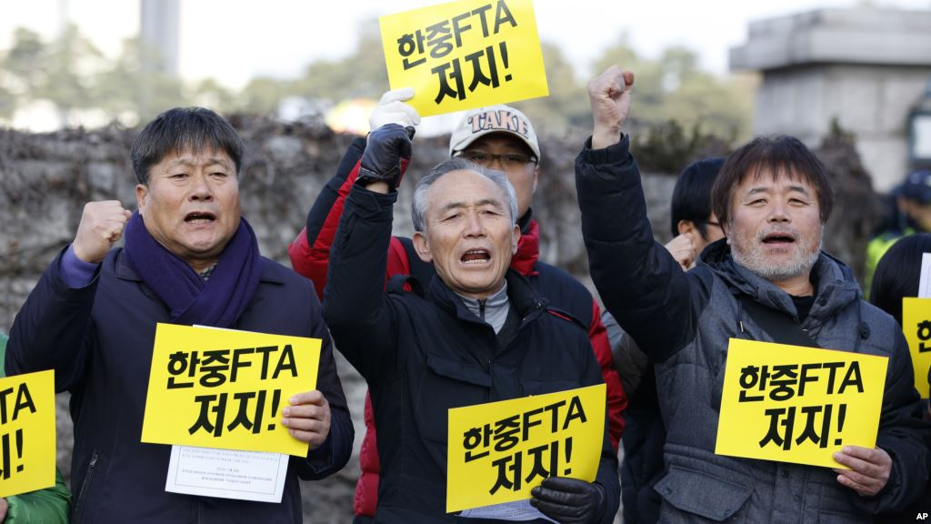 South Korea Ratifies Free Trade Agreement With China Bilaterals