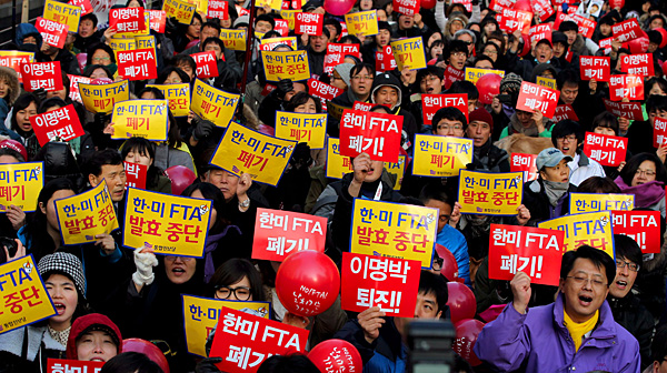 Court Orders Release Of All S Korea Us Free Trade Agreement