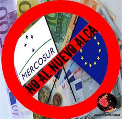 Resultado de imagen para no al tlc ue-mercosur