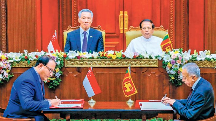 Singapore And Sri Lanka Sign Free Trade Agreement Bilaterals