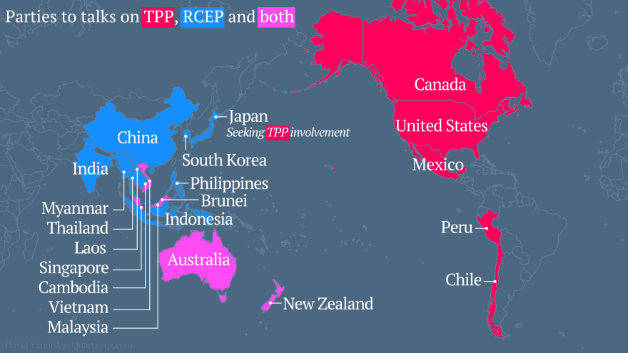 Date Set For Talks On Asia Pacific Free Trade Zone Bilaterals